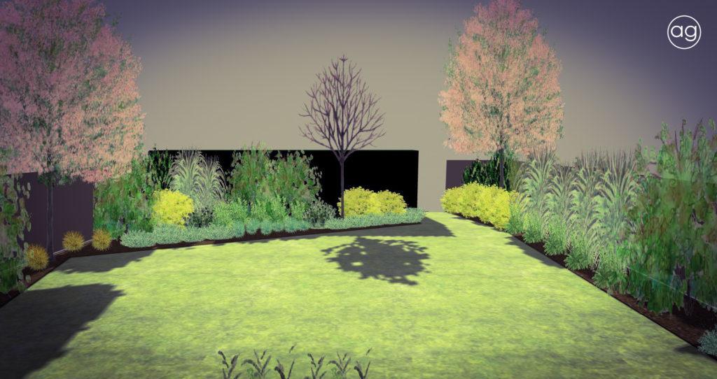 niewielki ogród wzabudowie szeregowej, szeregowiec, projektowanie ogrodów, Agnieszka Gertner, agnieszkagertnerblog, Toruń