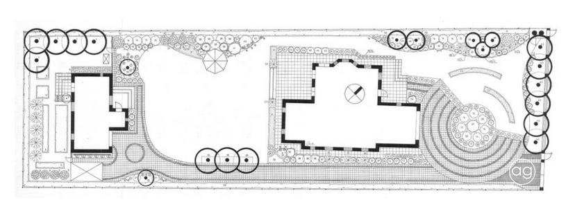 projektowanie ogrodów, ogród wZłotorii, Agnieszka Gertner, agnieszkagertnerblog, rzut zgóry, projekt