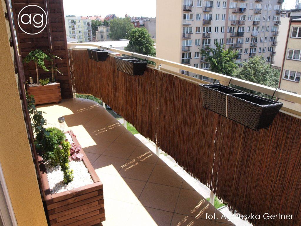 balkon wToruniu, agnieszkagertnerblog,, agnieszka gertner porealizacji, aranżacja balkonu